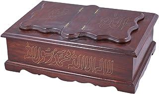 منظم و صندوق للاكسسوارات من شركة بي سي اتش ، خشب - لون بني