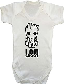 Danni Rose Jedi or Magic School Baby Vest Bodysuit boy Girl 0-3