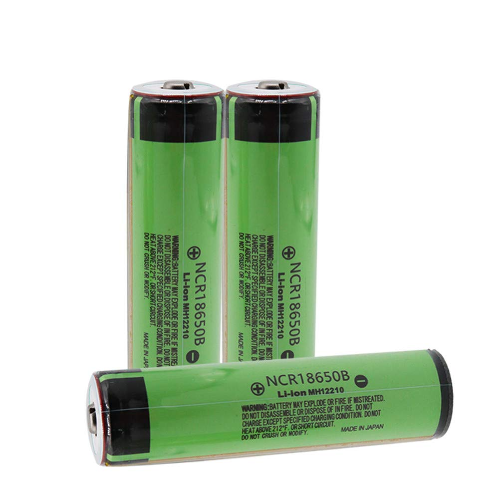 Protected Batteries Shoppinghere NCR18650B 3400mAh