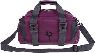Baoblaze Portable Women Men Sports Gym Bag with Compartment Travel Duffel Shoulder Bag Weekend Traveler Carry On Pack