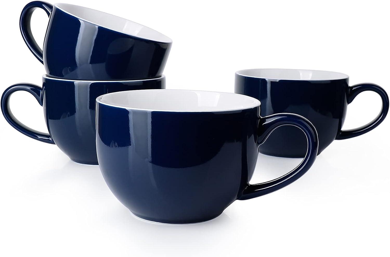 Sweese 622.403 shop Jumbo Mug Set- Regular discount 24 Porcelain Ounce for Mugs Soup