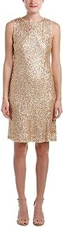 فستان ضيق بدون أكمام للنساء مزين بالترتر من Donna Ricco