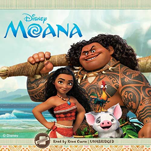 Moana audiobook cover art
