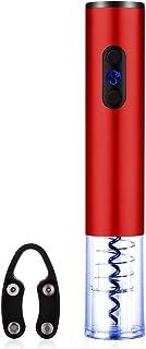 Newtripod 自動ワインオープナー 取り外し可能 電池式 (レッド)