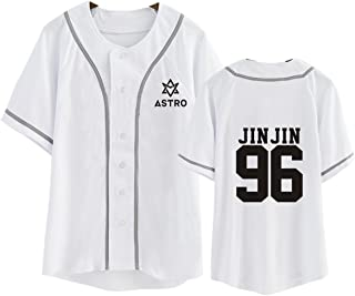 Kpop Astro T-Shirt MJ JINJIN MOONBIN Baseball Tee Shirt
