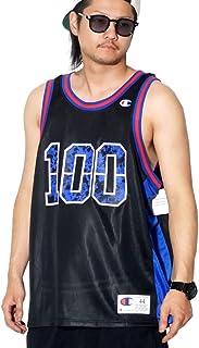 Champion(チャンピオン) タンクトップ バスケシャツ USAモデル T8831G ブラック [並行輸入品]