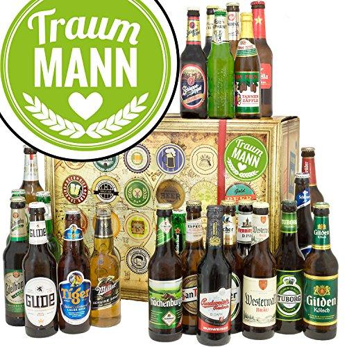 Traummann / 24x Bier aus aller Welt und Deutschland/Weihnachtskalender für Ihn Bier