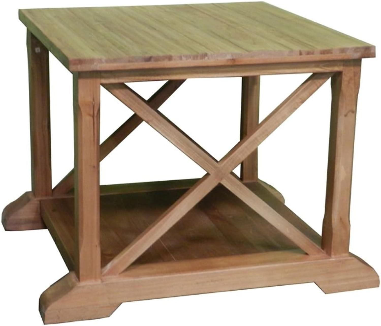 StealStreet SS-EDB-EN27180 23.75  Wooden Coffee Table