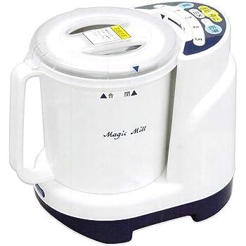 サタケ マジックミル キッチン用精米機 パールホワイト RSKM300