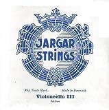 CUERDA VIOLONCELLO - Jargar (Azul) (Cromo) 3ª Medium Cello 4/4 (G) Sol (Una Unidad)