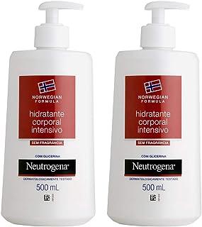Kit com 2 Hidratantes Corporal Neutrogena Norwegian Body 500ml