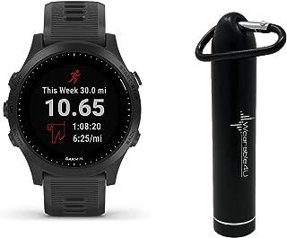 Garmin Forerunner 945 Premium GPS Running/Triathlon Smartwatch with Included Wearable4U Power Pack Bundle (Black, Device Only)