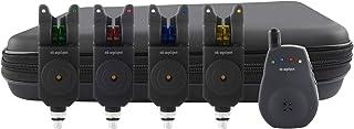 MK Angelsport Multi Sounder Funk Visare 4+1 med 1:1 överföringssats Fishing LED Bell Wireless Box