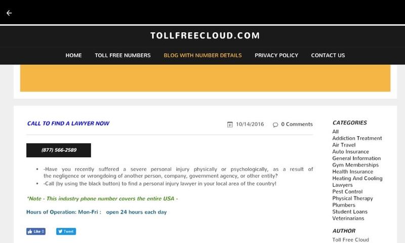 Toll Free Cloud