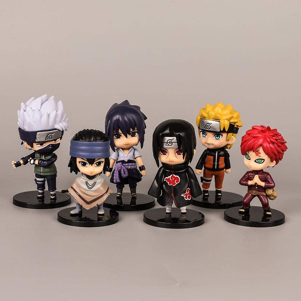 Addora Naruto Anime Figures Genuine Free Shipping Sasuke Itachi Gaara Ranking TOP12 Q Kakashi