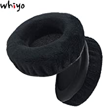 Whiyo 1 Pair of Sleeve Replacement Earpads Ear Pads Cushion for Jam HX-HP420 Headphone (Black)