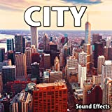 Downtown City Ambience with Traffic, Voices and Buses Passing (Version 2)