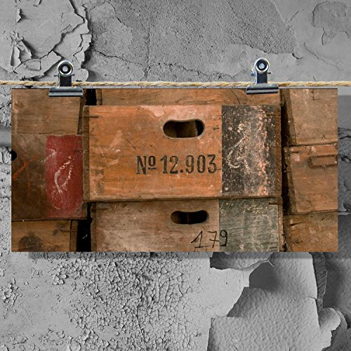 Kisten XXL Postkarte Kiste Regal Ordnung
