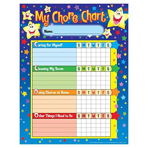 Stars Success Charts (25 sheets) by TREND enterprises, Inc. - Help your child establish good habits for home and study