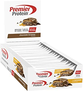 Premier Protein Bar Deluxe Chocolate Brownie Barritas Proteinas - 18 Barras