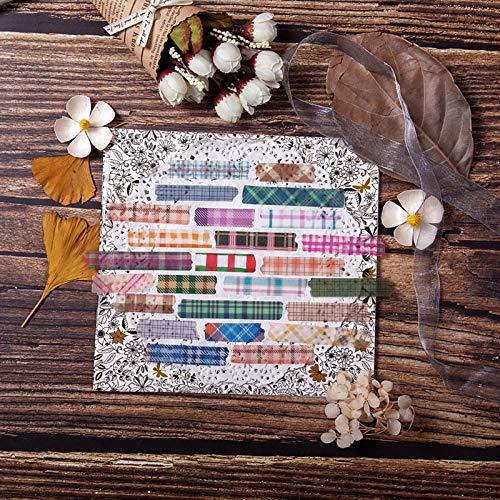 Vintage Picknick Garten Party Serie Bullet Journal dekorative Washi Aufkleber Scrapbooking Stick Label Tagebuch Album Aufkleber60pcs