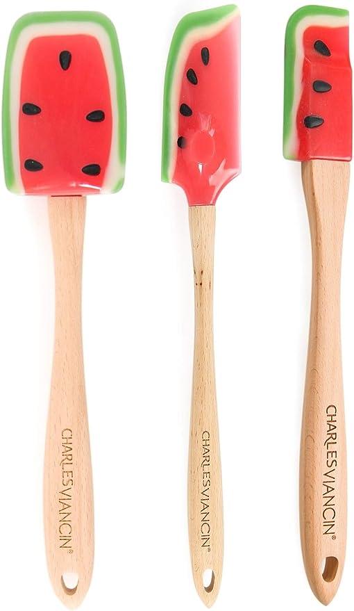 Taglia Unica Charles Viancin Spoonula Anguria Silicone Multicolore