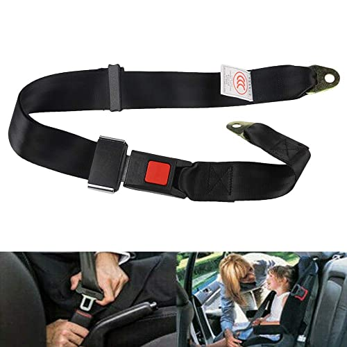 Alician Adjustable Car Seat Belt Auto Vehicle Retractable 3 Point Safety Seat Straps