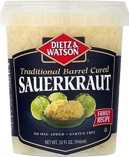 Dietz & Watson Traditional Barrel Style Cured Sauerkraut, 32 oz