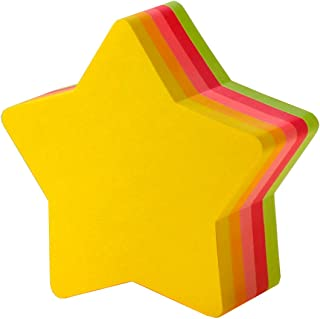 Post-it is Sticky Notes Star 72x72mm Fluorescent Color Five-Color 225 Sheets CC-32
