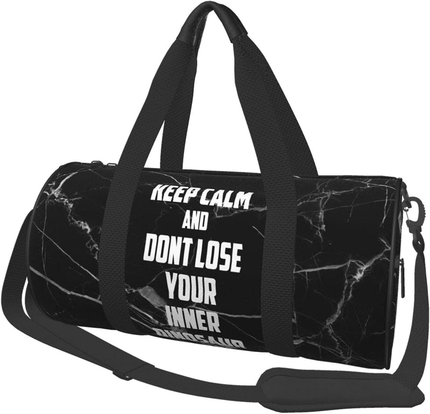 Selling rankings Keep Challenge the lowest price of Japan Calm Travel Duffel Bag for Men Round Women Bags Weekender