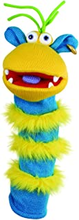 The Puppet Company - Knitted Puppet - Ringo, Sky Blue/Yellow
