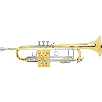 Bach 180-37 Stradivarius Professional Trumpet 18037 Lacquer, Yellow Brass Bell