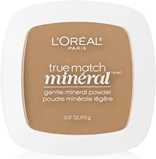 L'Oreal Paris True Match Mineral Pressed Powder, Sun Beige, 0.31 Ounce