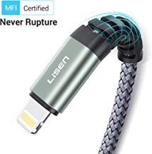 LISEN iPhone Charger Cable 6ft, [Apple MFi Certified]...