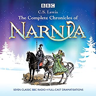 The Complete Chronicles of Narnia     The Classic BBC Radio 4 Full-Cast Dramatisations              By:                                                                                                                                 C. S. Lewis                               Narrated by:                                                                                                                                 Maurice Denham,                                                                                        Full Cast                      Length: 15 hrs and 7 mins     1,288 ratings     Overall 4.6