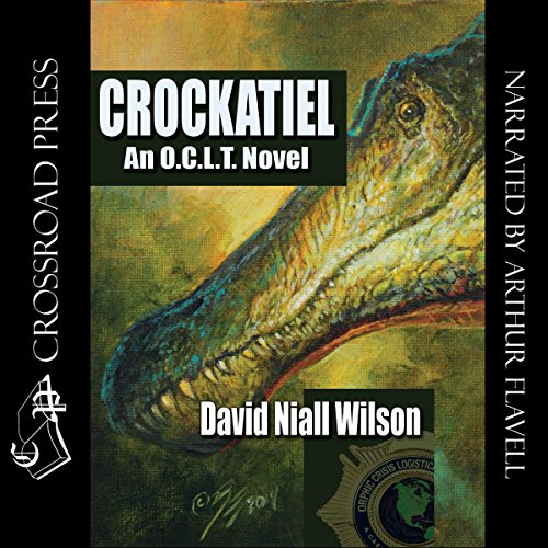 Crockatiel     An O.C.L.T. Novel: Featuring Cletus J. Diggs              By:                                                                                                                                 David Niall Wilson                               Narrated by:                                                                                                                                 Arthur Flavell                      Length: 5 hrs and 58 mins     14 ratings     Overall 3.9