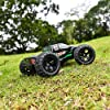 BEZGAR HM101 Hobby Grade 1:10 Scale Remote Control Truck with 550 Motor, 4WD Top Speed 42 Km/h All Terrains Off Road Monster Truck ,Waterproof RC Car with 2 Rechargeable Batteries for Kids and Adults #4