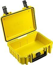 B&W Outdoor.cases Het origineel, leder, geel, 230x180x90 (Typ 500)
