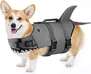 Petacc Dog Life Jacket Pet Floatation Vest Dog Lifesaver Dog Life Preserver for Water Safety at The Pool, Beach, Boating