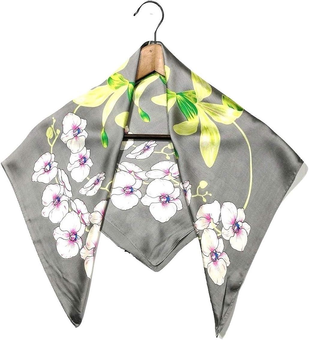 Shanlin Silk Feel Square Scarves 27