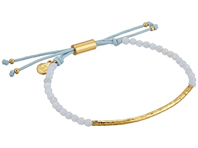 gorjana Power Gemstone Bracelet (Gold/Blue Lace Agate) Bracelet