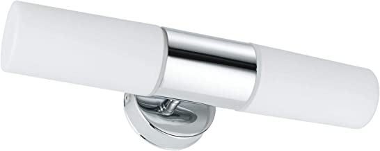 Paulmann 70350 WallCeiling Lenia IP44 max.2x40W E14 chroom / Opak 230V metaal/glas spiegellamp spiegellamp wandlamp 703.50