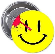Watchmen Smiley Pinback Button Pin Fan