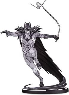 DC Collectibles Batman Black & White: Batman by Kenneth Rocafort Statue, Multicolor