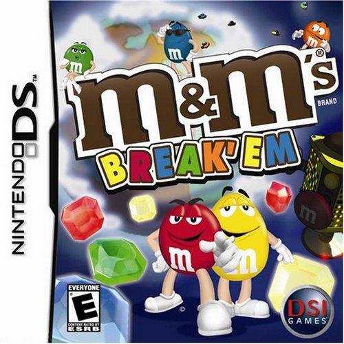 """M & Ms """"Break 'Em"""" - Nintendo DS [video game]"""