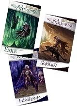Forgotten Realms The Dark Elf Trilogy: Book 1: Homeland , Book 2: Exile , Book 3:Sojourn (Forgotten Realms, The Dark Elf Trilogy)