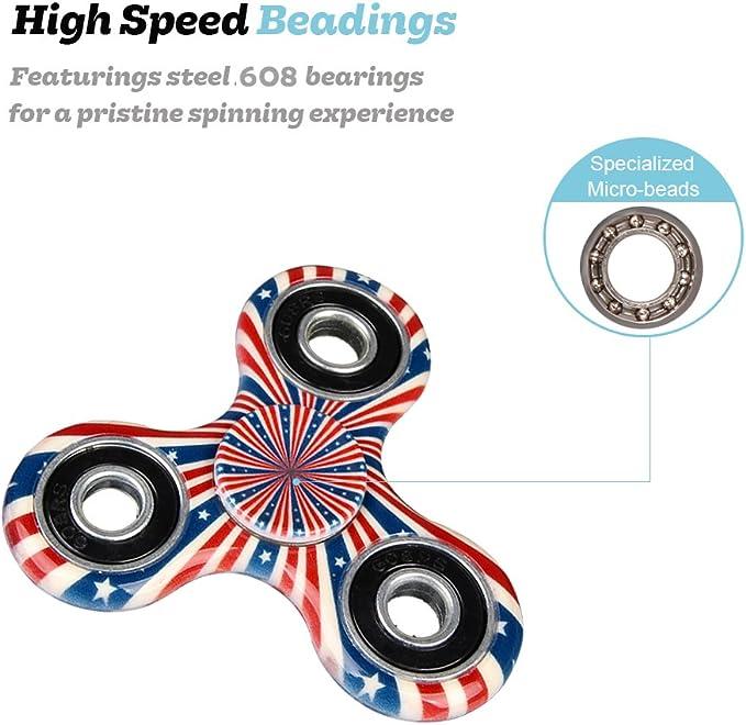 Details about  /Lot of 12 X Fidget Spinner 12 X Fidget spinner STRESS ANXIETY
