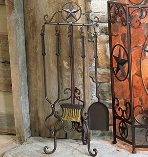 Lone Star Western Fireplace Tool Set - 5 pcs - Western Decor