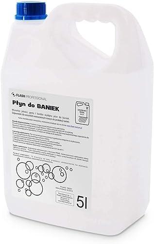 Bidon de 5 Litres de liquide pour machine à bulles