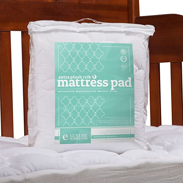 ExceptionalSheets Crib Toddler Mattress Pad Rayon From Bamboo